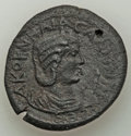 Ancients:Roman Provincial , Ancients: PAMPHYLIA. Perge. Salonina (AD 254-268). AE decassarion(30 mm, 15.23 gm)....