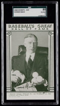 Baseball Cards:Singles (1940-1949), 1948 Baseball's Great HOF Exhibits Connie Mack SGC 80 EX/NM 6....