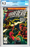 Modern Age (1980-Present):Superhero, Daredevil #168 (Marvel, 1981) CGC NM- 9.2 White pages....