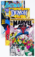 Modern Age (1980-Present):Miscellaneous, Modern Age Comics Long Box Group (Various Publishers, 1990-92) Condition: Average NM-....