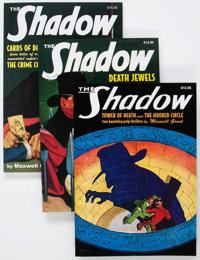 The Shadow Pulp Reprints #21-40 Group (Nostalgia Ventures, 2008-10) Condition: Average NM-.... (Total: 20 Items)