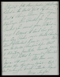 Football Collectibles:Others, George Trafton Handwritten, Signed Letter - With Notre Dame and Pro Football Content....