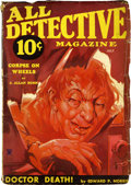 Pulps:Detective, All Detective Magazine V7#21 (Dell, July 1934) Condition: GD....