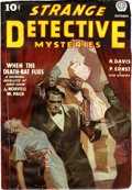 Pulps:Detective, Strange Detective Mysteries V1#1 (Popular, 1937) Condition: FN-....