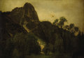 Fine Art - Painting, European:Antique  (Pre 1900), CONTINENTAL SCHOOL (Nineteenth Century). Mountain Landscape.Oil on artists board. 14 x 20-1/4 inches (35.6 x 51.4 c...