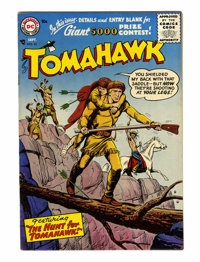 Tomahawk #43 (DC, 1956) Condition: VF