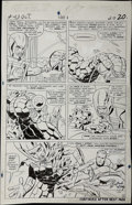 Original Comic Art:Panel Pages, Jack Kirby and Vince Colletta - Fantastic Four #43, page 16Original Art (Marvel, 1965)....