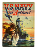 Books:Miscellaneous, U.S. Navy in Action! #nn Pennsylvania pedigree (Whitman, 1942) Condition: VF-....
