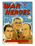Golden Age (1938-1955):War, War Heroes #2 Pennsylvania pedigree (Dell, 1942) Condition: VF....