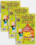 Bronze Age (1970-1979):Cartoon Character, Richie Rich and Gloria #3 File Copy Box Lot (Harvey, 1978)Condition: Average VF+....
