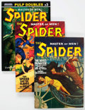 Memorabilia:Pulps, The Spider Pulp Reprints Group of 5 (Various Publishers, 2002-08) Condition: NM-.... (Total: 5 Comic Books)