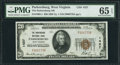National Bank Notes:West Virginia, Parkersburg, WV - $20 1929 Ty. 1 The Parkersburg NB Ch. # 1427. ...