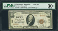 National Bank Notes:Kentucky, Winchester, KY - $10 1929 Ty. 2 The Clark County NB Ch. # 995. ...