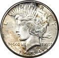 Peace Dollars, 1934-S $1 Doubled Tiara, VAM-3, MS65+ PCGS....