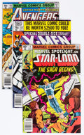 Modern Age (1980-Present):Miscellaneous, Marvel Bronze and Modern Age Group of 61 (Marvel, 1970s-80s) Condition: Average VF/NM.... (Total: 61 Comic Books)