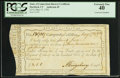 Colonial Notes:Connecticut, State of Connecticut Interest Certificate £3.1.0 May 17, 1792 PCGSExtremely Fine 40, CC.. ...