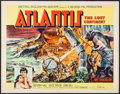 """Movie Posters:Adventure, Atlantis, the Lost Continent (MGM, 1961). Half Sheet (22"""" X 28"""")& Belgian Poster (14"""" X 21""""). Adventure.. ... (Total: 2 Items)"""