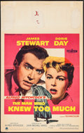 "Movie Posters:Hitchcock, The Man Who Knew Too Much (Paramount, 1956). Window Card (14"" X 22""). Hitchcock.. ..."
