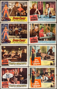 "Over-Exposed & Others Lot (Columbia, 1956). Lobby Cards (46) (11"" X 14""). Bad Girl. ... (Total: 46 Items)"