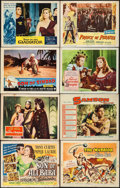 "Movie Posters:Fantasy, Son of Ali Baba (Universal International, 1952). Lobby Cards (64) (11"" X 14""). Fantasy.. ... (Total: 64 Items)"