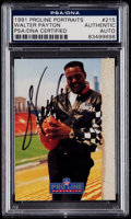 Football Collectibles:Balls, Signed 1991 Proline Portraits Walter Payton PSA/DNA Authentic. ...
