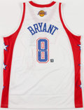 Basketball Collectibles:Uniforms, Kobe Bryant Signed All Star Jersey - With Team LOA....