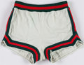 Basketball Collectibles:Others, 1974-75 Lucius Allen Game Worn Milwaukee Bucks Shorts - With TeamLOA. ...