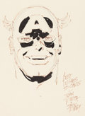 Original Comic Art:Sketches, John Romita Sr. - Captain America Sketch Original Art (undated)....
