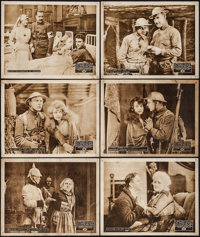 "The Unbeliever (Perfection Pictures, 1918). Lobby Cards (6) (11"" X 14""). War. ... (Total: 6 Items)"