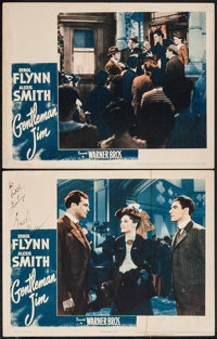 "Gentleman Jim (Warner Brothers, 1942). Autographed Lobby Card & Lobby Card (11"" X 14""). Sports. ... (T..."