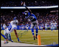 Football Collectibles:Photos, Odell Beckham Jr. Signed Oversized Photograph. ...