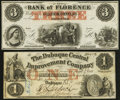 Obsoletes By State:Iowa, Dubuque, IA- Dubuque Central Improvement Company $1 Feb. 1, 1858. Florence, NE- Bank of Florence $3 18__ Remainder. ... (Total: 4 items)