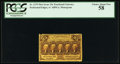 Fractional Currency:First Issue, Fr. 1279 25¢ First Issue PCGS Choice About New 58.. ...