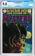 Bronze Age (1970-1979):Horror, House of Mystery #175 (DC, 1968) CGC VF/NM 9.0 Off-white to whitepages....