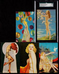"Non-Sport Cards:Sets, 1940's Mutoscope ""All American Girls"" Near Set (30/32). ..."