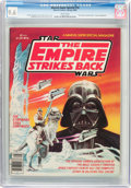 Magazines:Science-Fiction, Marvel Comics Super Special #16 Star Wars: The Empire Strikes Back(Marvel, 1980) CGC NM+ 9.6 White pages....