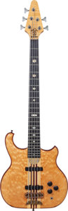 Musical Instruments:Bass Guitars, John Entwistle Signed 1983 Alembic Persuader Natural 5-String Electric Bass Guitar, Serial # 83P4888, Weight: 10 lbs....