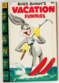 Golden Age (1938-1955):Miscellaneous, Dell Giant Comics - Bugs Bunny Vacation Funnies #5-8 Bound Volume (Dell, 1955-58)....