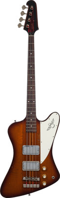 1964 Gibson Thunderbird IV Sunburst Electric Bass Guitar, Serial # 160518, Weight: 8.8 lbs