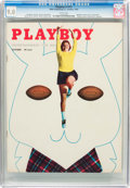 Magazines:Miscellaneous, Playboy #11 (HMH Publishing, 1954) CGC VF/NM 9.0 White pages....
