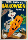 Golden Age (1938-1955):Miscellaneous, Dell Giant Comics - Bugs Bunny Halloween Fun #1-4 Bound Volume (Dell, 1953-56)....