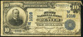 National Bank Notes:Colorado, Denver, CO - $10 1902 Date Back Fr. 616 The First NB Ch. # (W)1016....