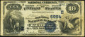 National Bank Notes:Maryland, Baltimore, MD - $10 1882 Value Back Fr. 577 The Old Town NB Ch. #(E)5984. ...