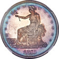 Proof Trade Dollars, 1875 T$1 Type Two Reverse PR67 NGC....