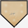 Baseball Collectibles:Others, Sandy Koufax Signed Home Plate....