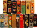 Big Little Book:Miscellaneous, Big Little Book Famous Comic Strip Group of 16 (Whitman andSaalfield, 1933-48). Condition: Average VG.... (Total: 16 Items)