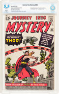 Silver Age (1956-1969):Superhero, Journey Into Mystery #83 (Marvel, 1962) CBCS Apparent FN- 5.5 Slight (P) Off-white pages....