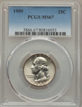 Washington Quarters, 1959 25C MS67 PCGS....