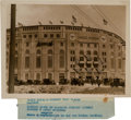 Baseball Collectibles:Photos, 1923 Opening of Yankee Stadium Original Photograph, PSA/DNA Type 1....