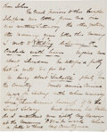 Autographs:Celebrities, [Abraham Lincoln]: John T. Ford Autographed Letter Signed....
